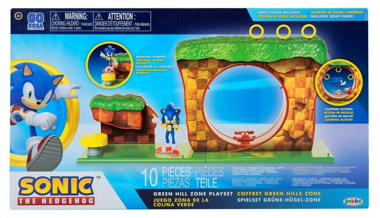 Jakks Pacific Sonic the Hedgehog - Green Hill Zone Playset F