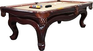 Empire USA Billiard Solid Wood Pool Table Walnut Finish with 1