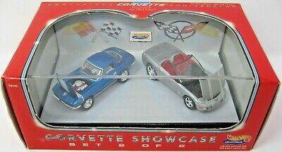 Hot Wheels Ltd Ed 45th Anniversary Corvette Showcase 2 Car Set # 2 New / Sealed