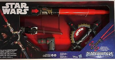 NEW Star Wars BladeBuilders Spin-Action Lightsaber Jedi Sith Inquisitor Disney](Inquisitor Lightsaber)