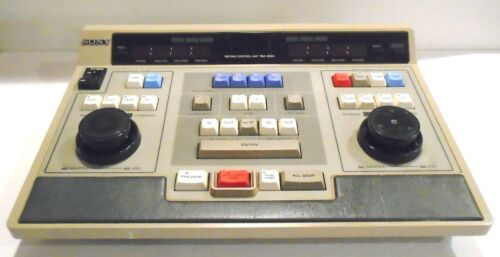 Vintage Sony RM-450 Editing Control Unit Dual Deck Visual Video Untested