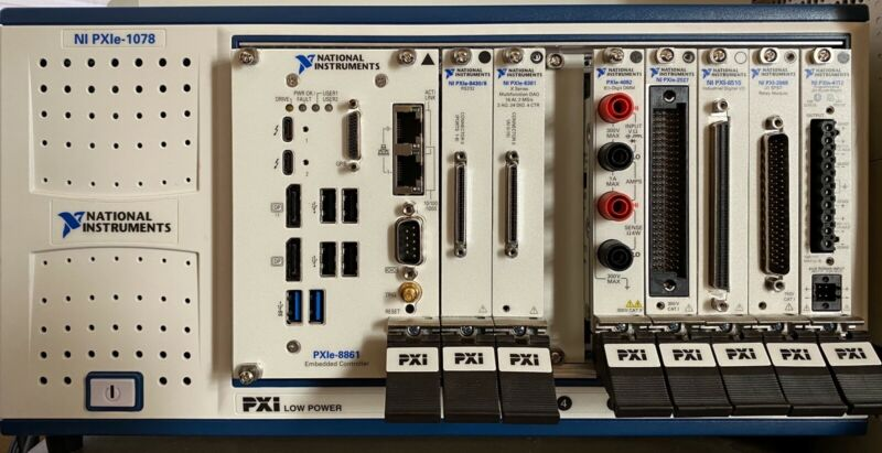 National Instruments NI PXIe-2568 Relay Module & Cable