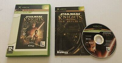 Star Wars Knights of the Old Republic Microsoft Original Xbox Complete PAL