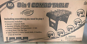 Brand New - 8 in 1 Combo Games Table Salisbury Heights Salisbury Area Preview