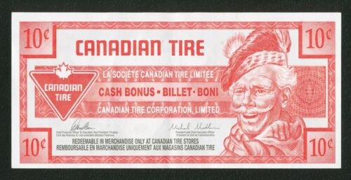 Canadian Tire Money 2014 10 cent one tenth dollar note