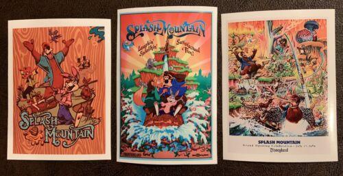 Home Decoration - (3) Splash Mountain Disneyland World Waterproof Vinyl Stickers 4in x 3in Decals