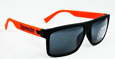 Jägermeister Likör, Sonnenbrille, Nerd UV 400 Kat.3, orange Ausführung