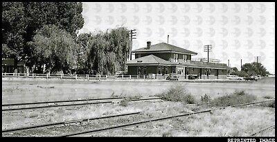 Denver and Rio Grande Western Railroad D&RGW Depot Train Station in Price Utah Denver And Rio Grande Western Railroad