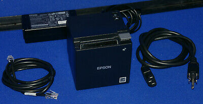 Epson Tm-m10 Thermal Receipt Printer Autocutter Usb With Power Supply