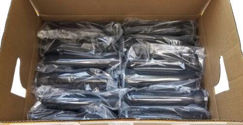 130 Round Basic Flip Top Pods for Paintball Guppy Tube- Gloss Black - 48 Pack