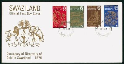 Mayfairstamps Swaziland FDC 1979 Gold Panning Combo First Day Cover wwo_58467