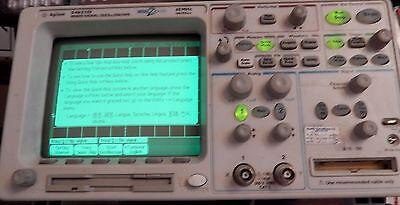 Agilent 54621d Digital Oscilloscope 60mhz 200mss Megazoom 2mbchannel