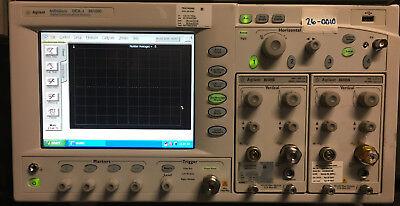 Agilent 86100c Infiniium Dca Oscilloscope W 09270186109a86109b