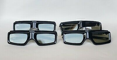 New Sony TDG-BT400A Active 3D Glasses RF Set Of 4 Tab Not Pulled