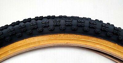 "Kenda K841 Kontact Orange 20/"" x 2.25/""  BMX Bike Tire 20x2.25 FreeStyle Skate"