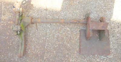 alte Stange Verbindungsstück Eisen Bauer antik Gerät Ersatzteil Griff Gegenstück