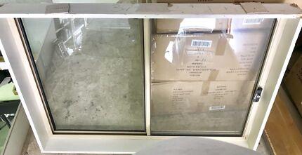 Aluminum Windows x 3 & Sliding door.