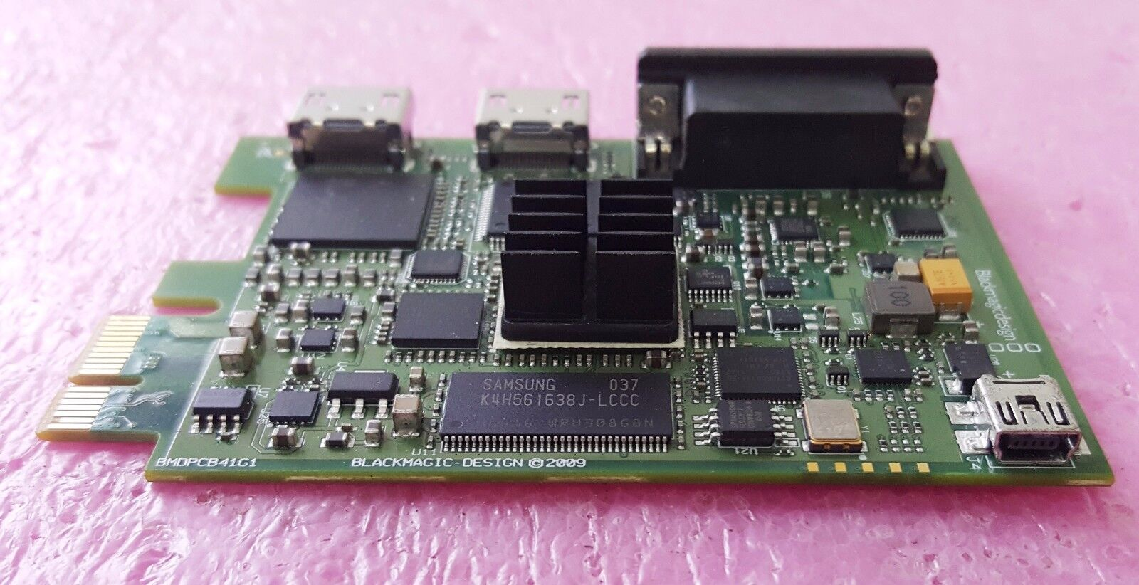 BlackMagic Design Used BMDPCB41G1 Intensity Pro
