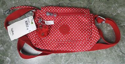 Kipling AC8282 Sabian Crossbody Mini Shoulder Bag Polyamide Confetti Dots 49