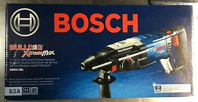 Bosch Gbh2-28l 1-18 Sds-plus Bulldog Xtreme Max Rotary Hammer Brand New