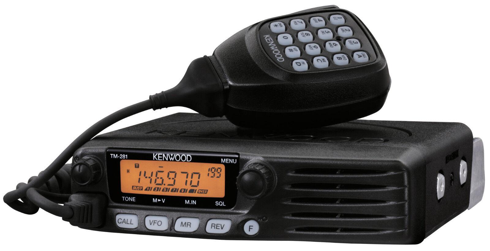 Kenwood TM 281A 144MHz FM Transceiver