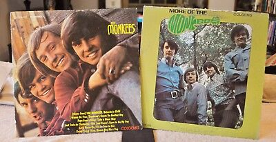 "2 LP's by The Monkeys ""The Monkeys"" & ""More of The Monkeys"""