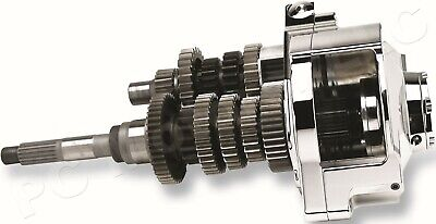 JIMS RIGHT SIDE DRIVE 6 SIX SPEED TRANSMISSION SUPER KIT; 1990-2006 SOFTAIL FXST