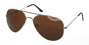 Men Women Aviator Sunglasses Reflective Lens Gold Silver Frame Free AU Shipping