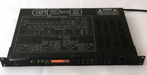 Roland GP-8 Analog/Digital Guitar Effects Processor