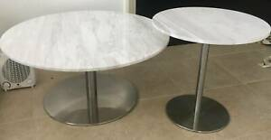 NickScali Side MARBLE tables x 2