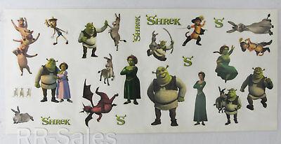 Huge Shrek Peel and Stick Fiona Donkey Puss Room Wall Stickers Decor Decals 25 (Shrek Wall Decals)