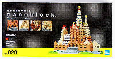Kawada NB-028 nanoblock Sagrada Familia Deluxe Edition