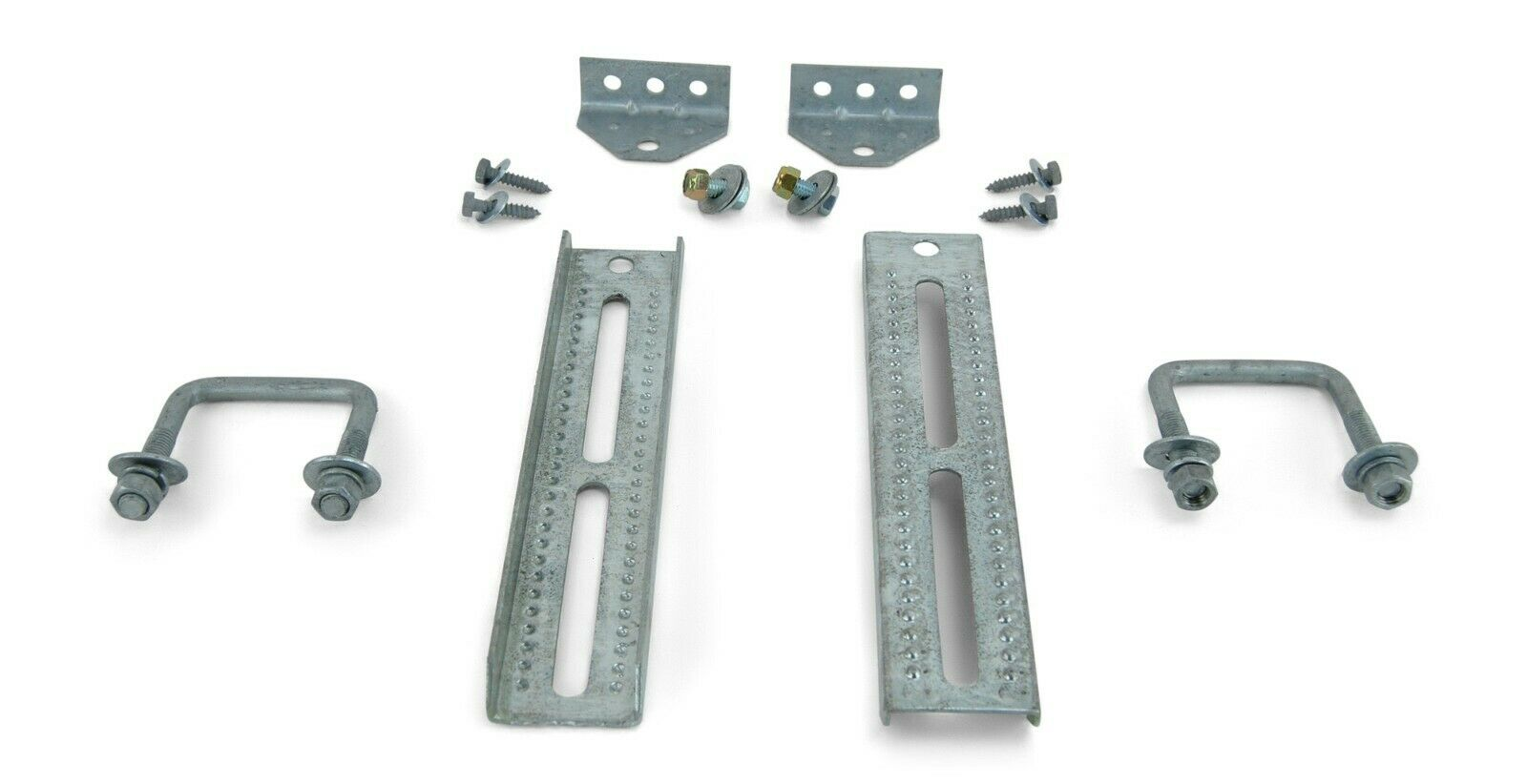 "12/"" Galvanized Swivel Bunk Bracket Kit with Hardware for 1.5 x 3 Crossmember 2"