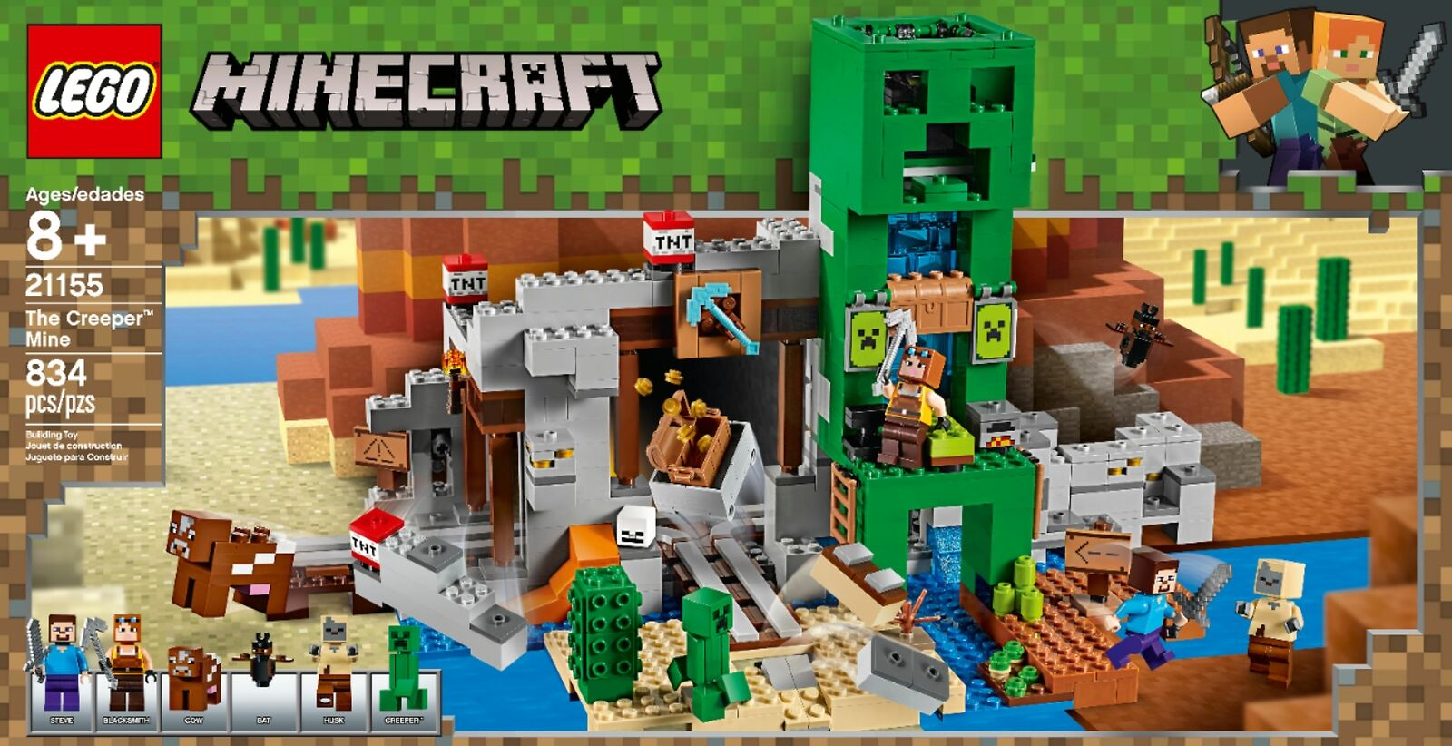 MINECRAFT TOYS Villager Blacksmith action Figure with Accessories