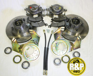 CJ5 Willys/Jeep Bolt on Front Disc Brake Conversion Kit