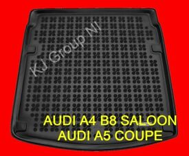 AUDI A4 B8 SALOON / AUDI A5 COUPE Tailored Rubber Boot Liner / Mat / Tray