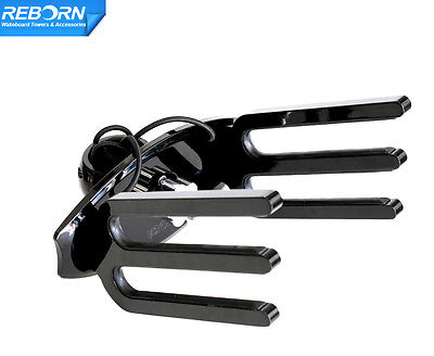 Reborn Angle-free QR Wakeboard Rack Black Fit Vertical /Horizontal /Slant Tubing for sale  Shipping to South Africa