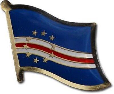 Wholesale Pack of 50 Cape Verde Country Flag Bike Hat Cap lapel Pin
