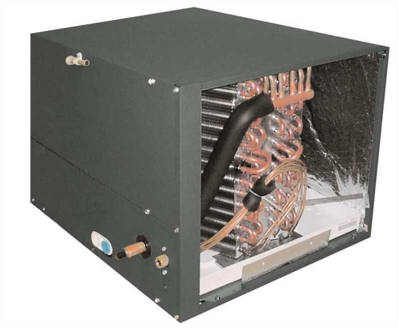 """Goodman 1.5 -2 Ton Horizontal Case Evaporator Coil 21""""w X 14""""h X 26""""d Chpf1824a6"""