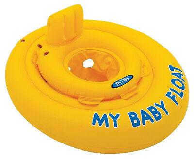 INTEX Kinder Schwimmsitz My Baby Float Schwimmreifen Schwimmhilfe Schwimmring