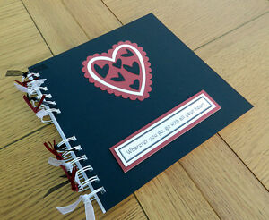 Valentine-Love-Hearts-Scrapbook-Photo-Memory-Album-Gift-can-be-personalised