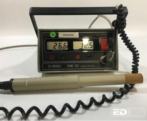 Vaisala HMI 33 Temperature Humidity/Dew Point Indicator w/ Probe - Tested [OTT]