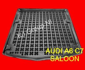 AUDI A6 C7 SALOON 2011-2018 Tailored Rubber Boot Liner / Mat / Tray