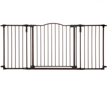 North States Supergate Deluxe Décor Metal Pet Baby Safety G