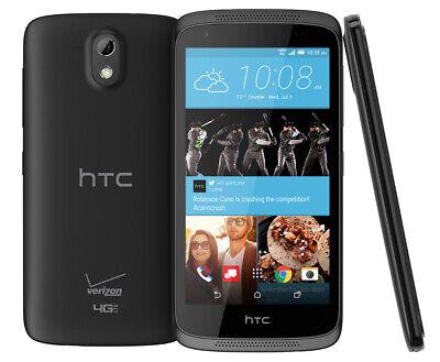 HTC Desire 526 8GB Verizon Smartphone-Black-Fair