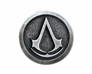 Assassins Creed Official Metal Pin BRAND NEW - Syndicate Unity Brotherhood Ezio - <span itemprop='availableAtOrFrom'>Swarzedz, Polska</span> - Assassins Creed Official Metal Pin BRAND NEW - Syndicate Unity Brotherhood Ezio - Swarzedz, Polska