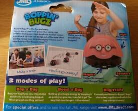 Childrens Toy Boppin Bugs Bookworm PINK New Still in box Cats Love them as well as Kids