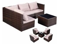 **FREE UK DELIVERY** Contemporary Rattan Outdoor Garden Furniture Sofa Set- BRAND NEW!