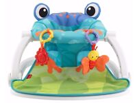 Baby Frog Seat-Me-Up Floor seat for Sale!