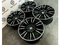 "BRAND NEW 19"" 20"" BMW M5 STYLE ALLOY WHEELS *AVAILABLE WITH TYRES* - 5 x 120"